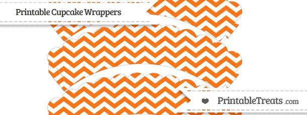 free-pumpkin-orange-chevron-pattern-scalloped-cupcake-wrappers-to-print