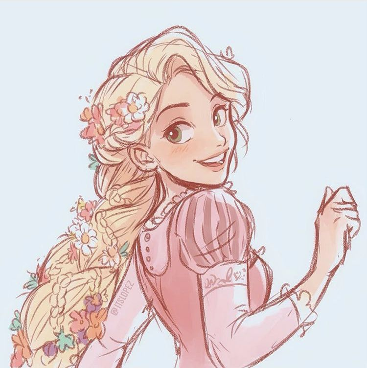 Rapunzel In 2020 Disney Artwork Disney Fan Art Disney Princess Art