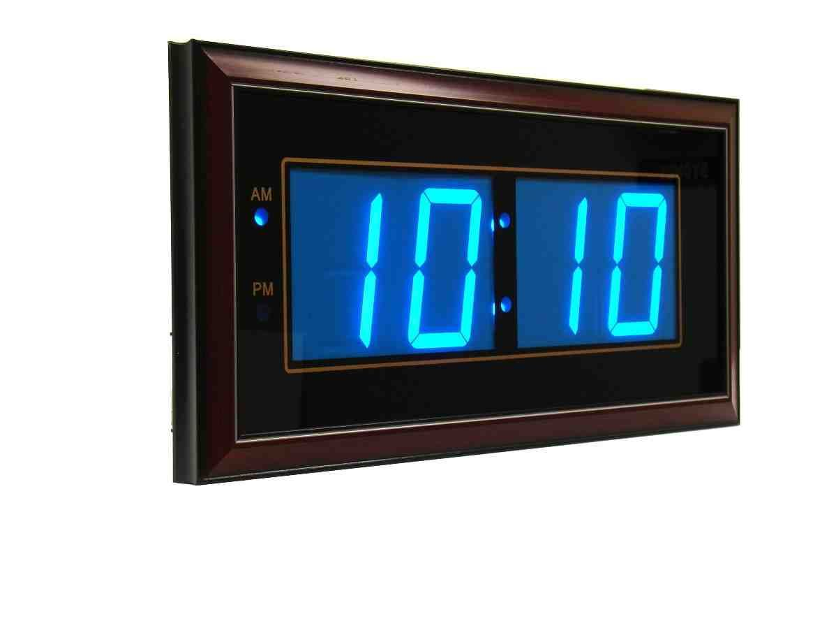 Digital led wall clocks battery operated digital wall clock digital led wall clocks battery operated amipublicfo Images