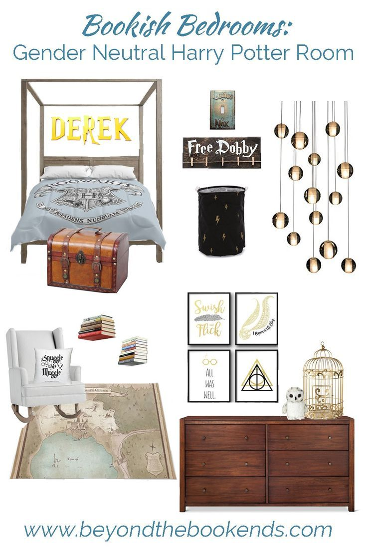 Gender Neutral Harry Potter Room images
