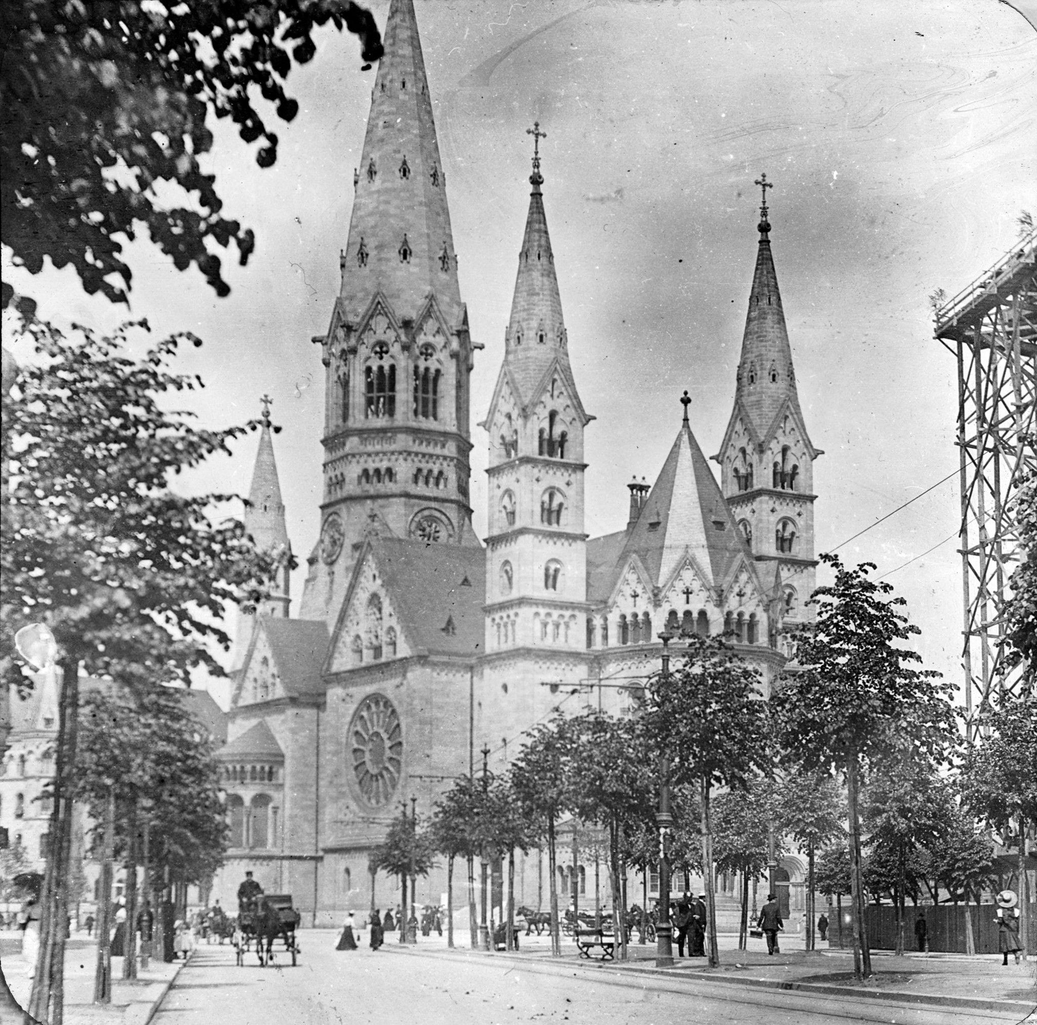 1901 Kaiser Wilhelm Gedachtniskirche Sigurd Curman Kaiser Wilhelm Berlin Geschichte Kaiser