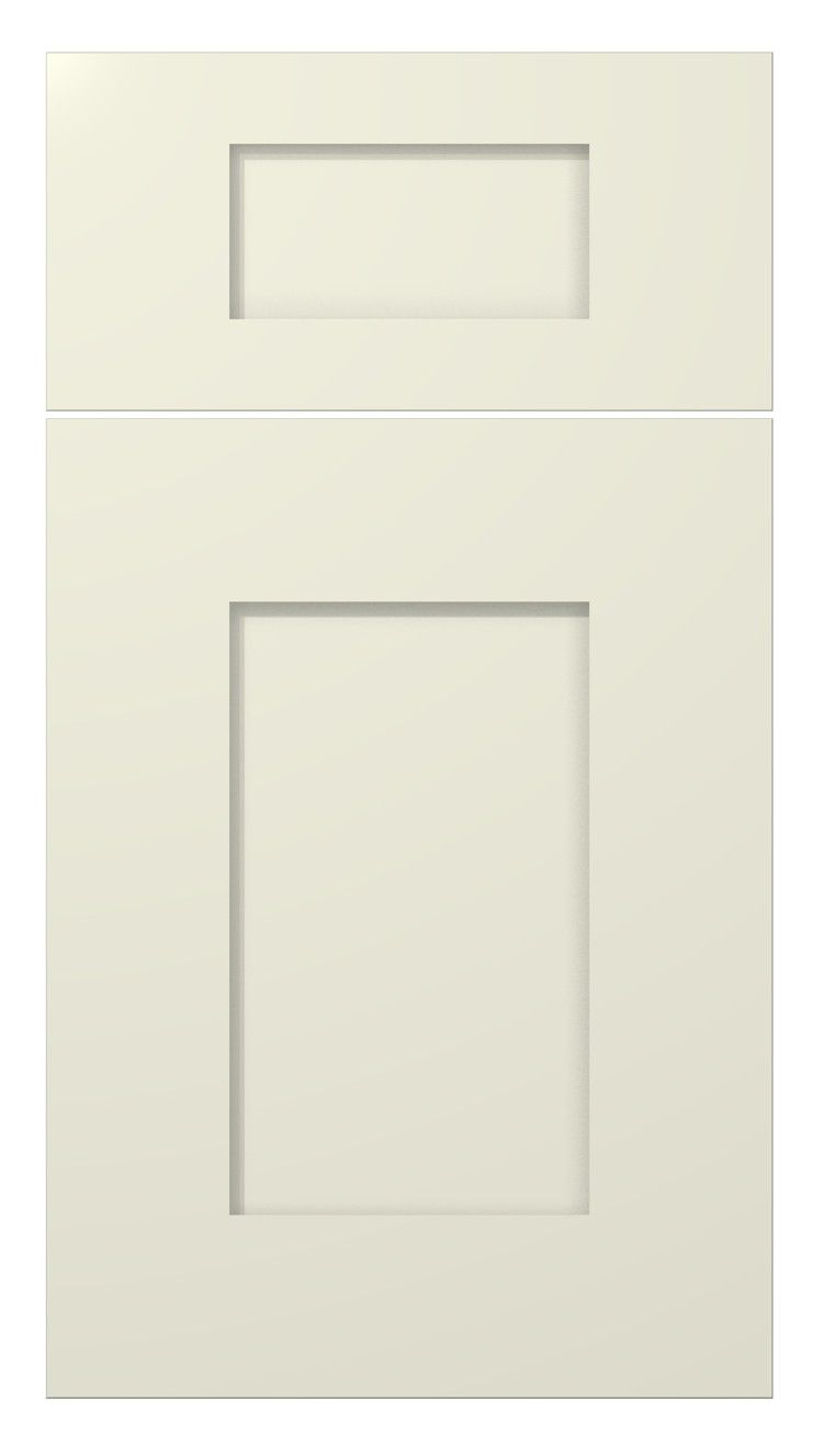 meridian wide rail painted antique white finish kitchen