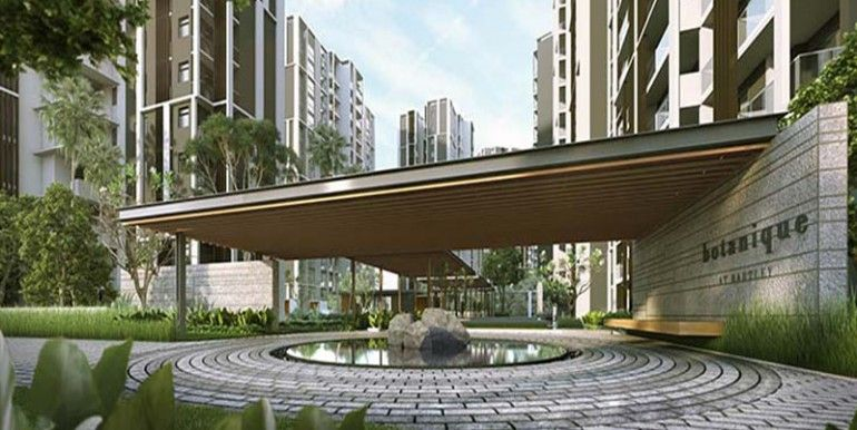 Condominium entrance design google search condomium for Home gateway architecture