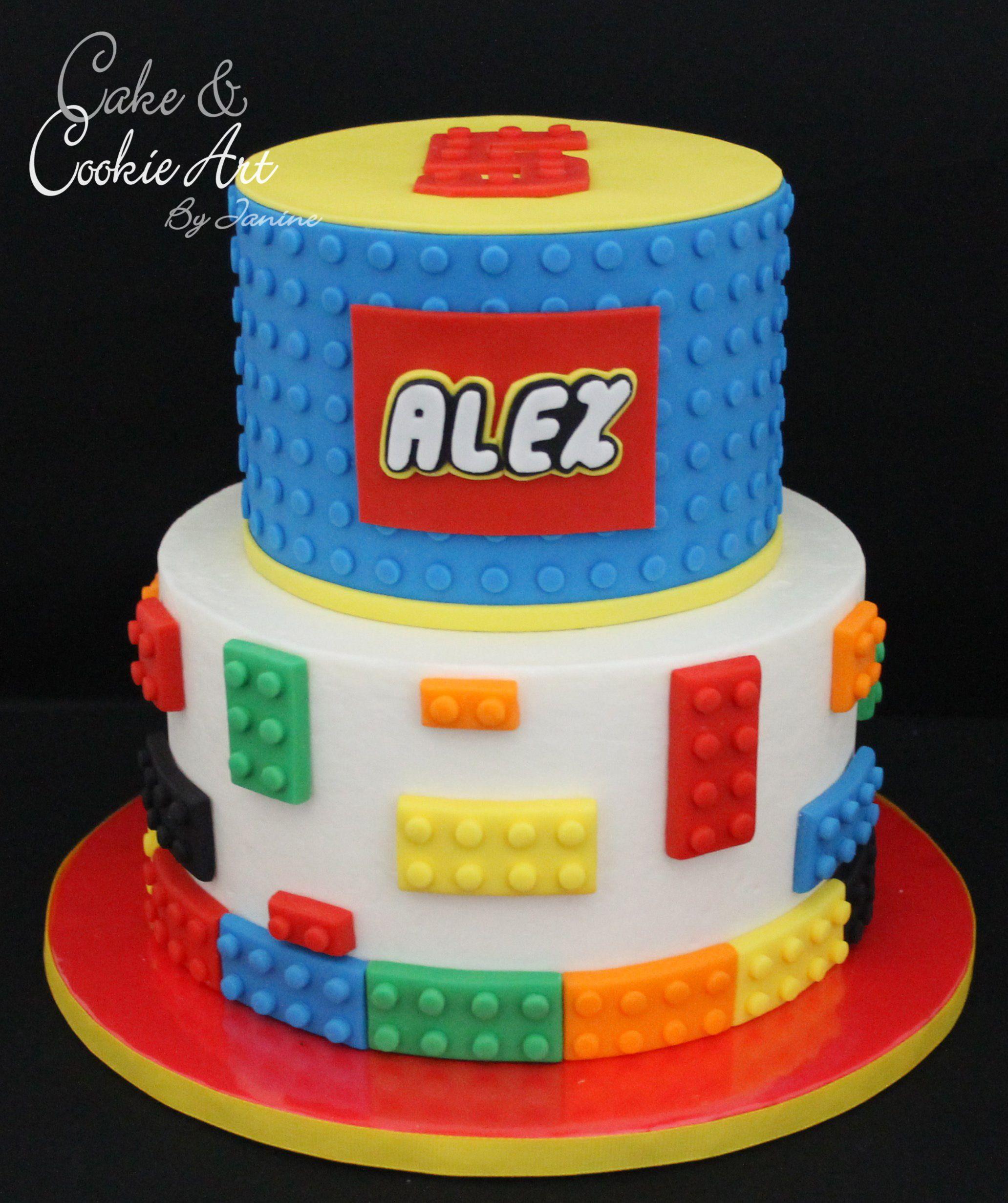 Sensational Lego Theme Cake Lego Birthday Cake Novelty Birthday Cakes Funny Birthday Cards Online Fluifree Goldxyz