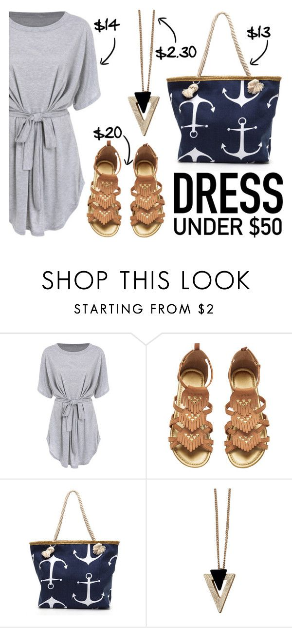 """Dress Under $50"" by janastasiagg ❤ liked on Polyvore featuring Chicnova Fashion and Dressunder50"