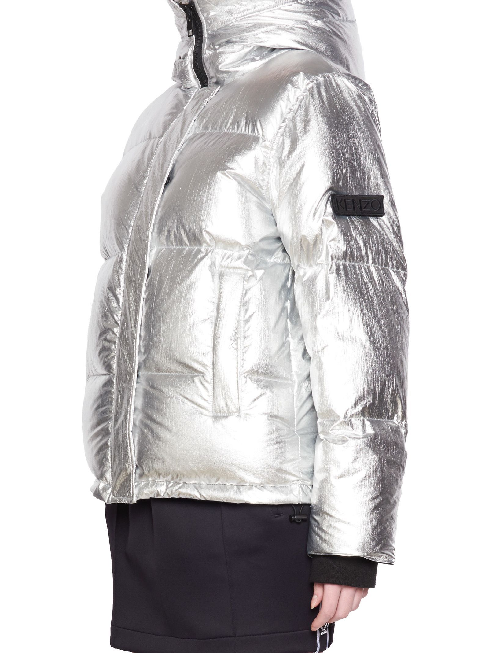 169ec92b Kenzo - Kenzo Jacket - Silver, Women's Jackets | Italist | INSULATED ...
