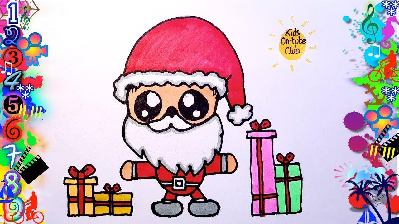 Dibujos Faciles Para Ninos Papa Noel Dibujos Dibujo Facil Papa Noel Dibujo Dibujos Faciles Para Ninos Dibujos Faciles