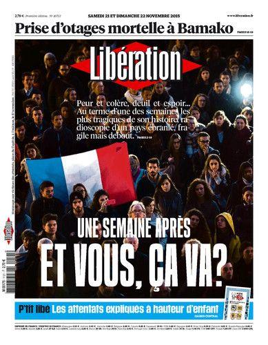 Libération, journal numérique du 21 novembre 2015