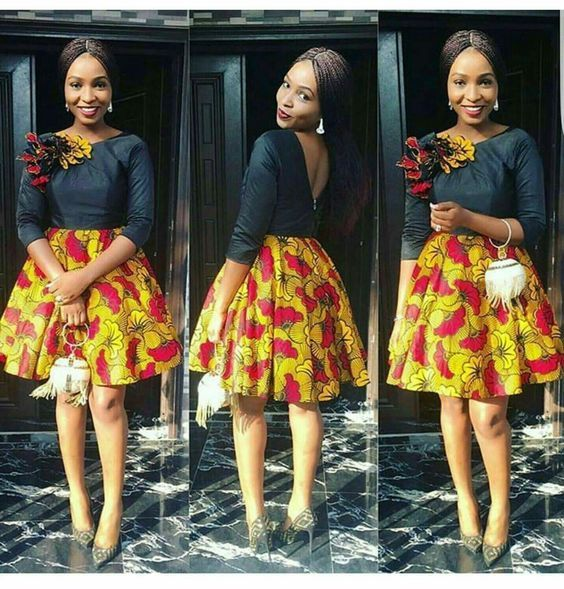 7d1f1afdaa1 African Attire Dresses for Young Ladies - African  PrintsFacebookTwitterEmailPinterestAddthisPinterestFacebook African Fashion  Ankara