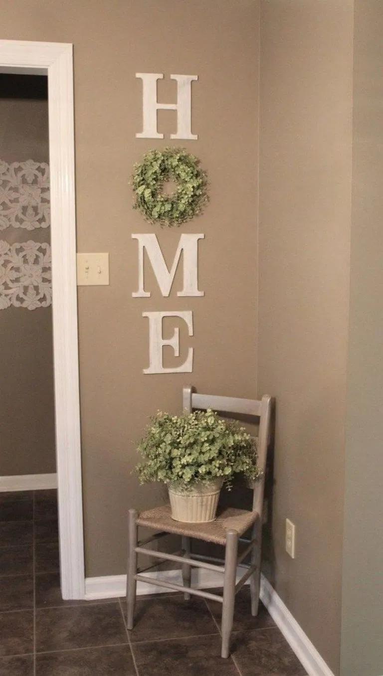 26+ Smart DIY Wall Decor Ideas in 26 in 26  Wreath wall decor