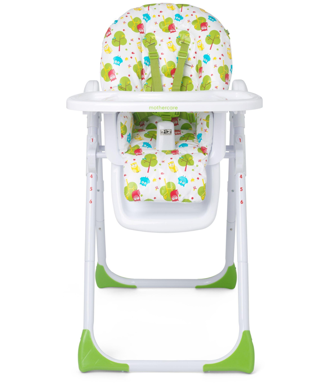 Mothercare Owls Highchair | High chair, Baby high chair