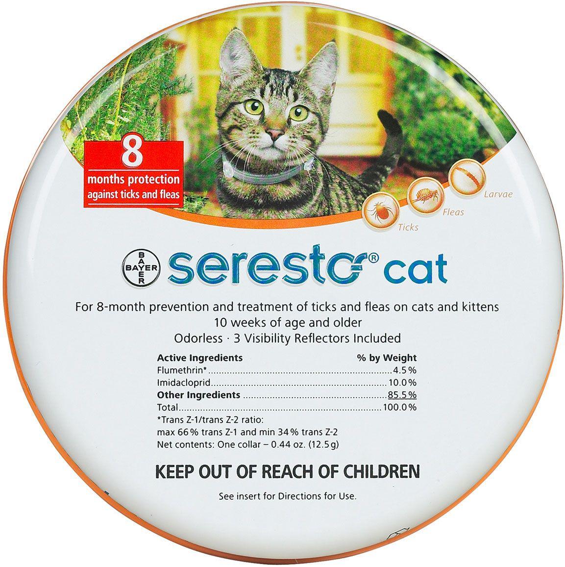Seresto Flea and Tick Collar for Cats Flea, tick, Fleas
