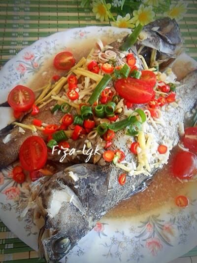 Resepi IKAN KERAPU KUKUS/STIM – MUDAH | Awesome Foods and