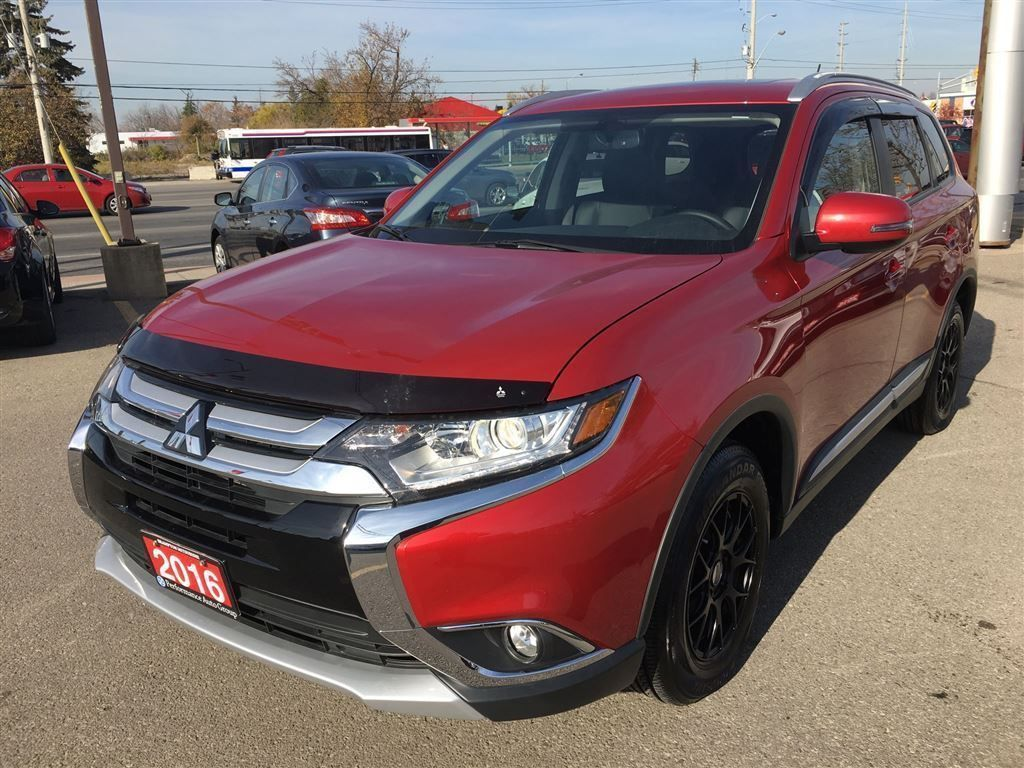 Interieur Mitsubishi Outlander 2016 Mitsubishi Outlander Es Premium Leather Interior Sunroof