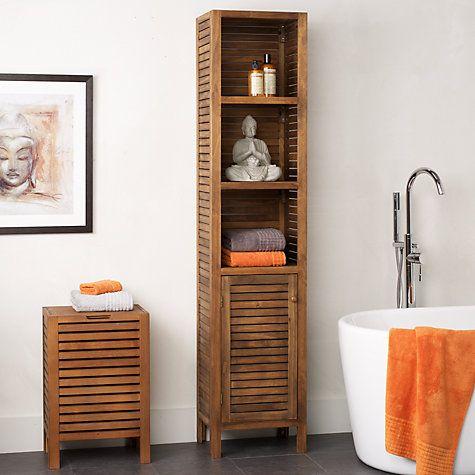 John Lewis Jakarta Bathroom Tall Boy Online at johnlewis.com £199 ...
