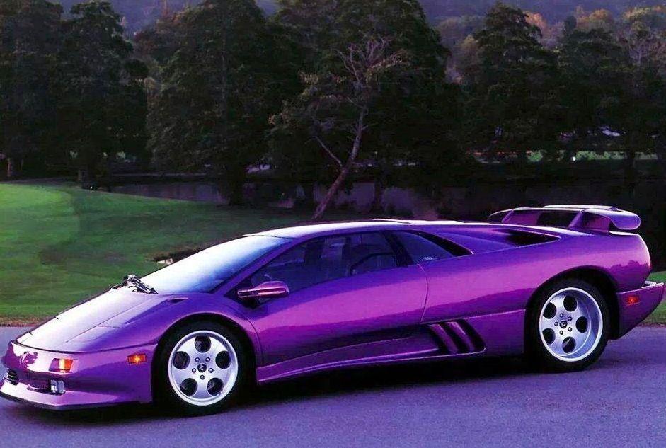 Purple Lamborghini Diablo Via Www Facebook Com Purpleiswho Cool