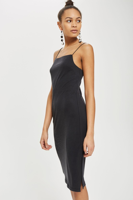 Square Neck Slip Dress Slip Dress Dresses Fashion [ 1530 x 1020 Pixel ]