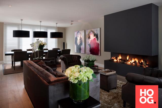 Design Woonkamer Meubels : Luxe woonkamer inspiratie met design meubels interieur