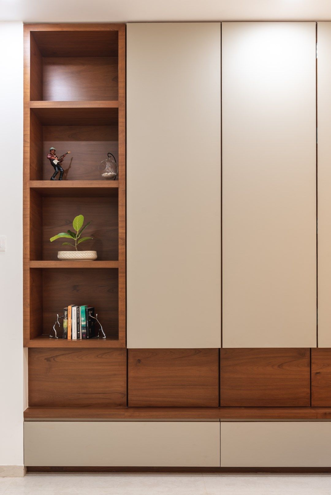 Swaram A Contemporary House Wardrobe design House Furniture