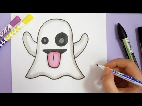 Comment Dessiner Une Sorciere Kawaii Halloween Youtube Objets