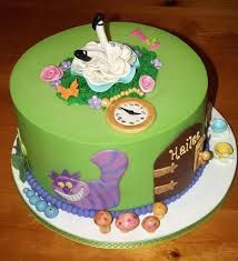 Image Result For Easy Alice In Wonderland Cakes Cake Alice In