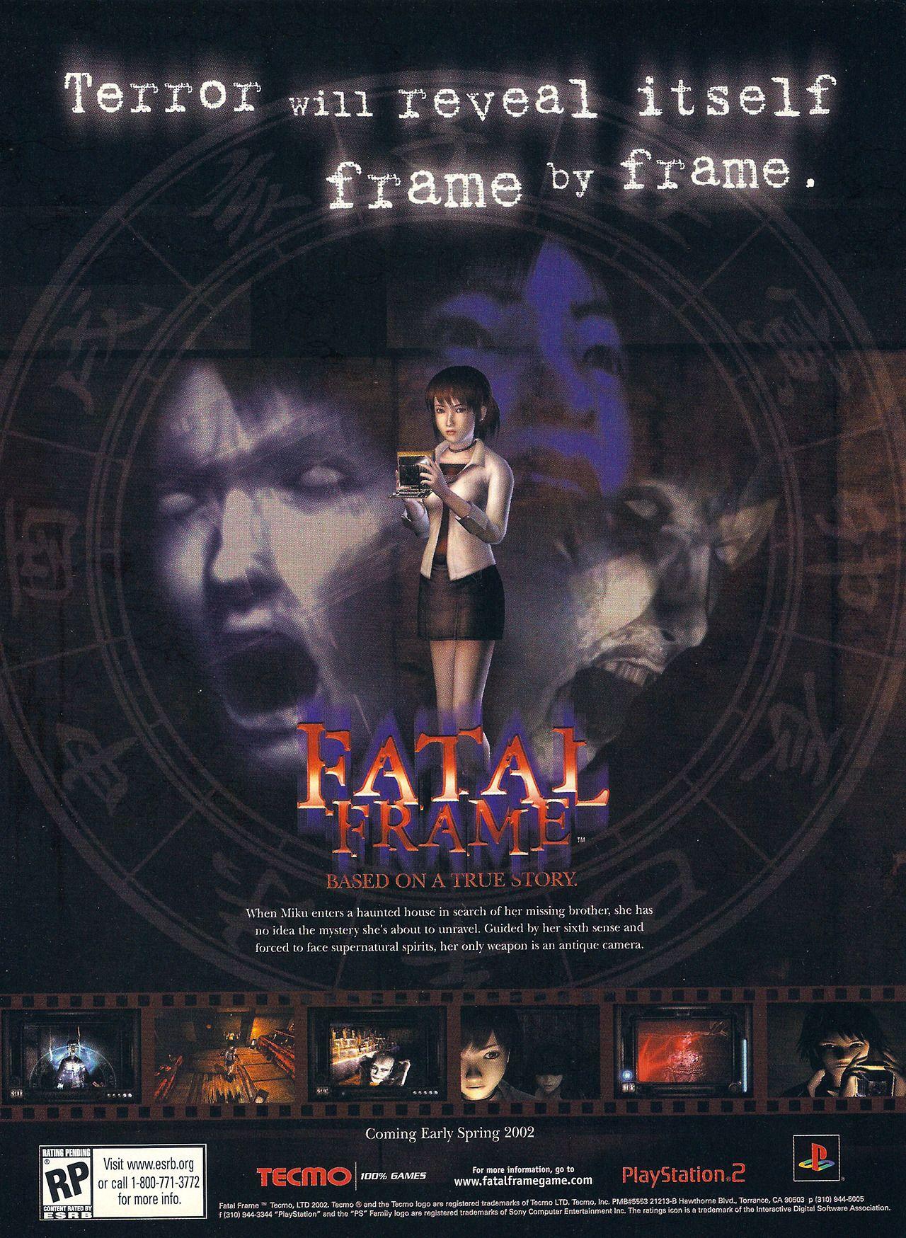 Fatal Frame\'[PS2] [USA] [MAGAZINE] [2002] • PSM, February 2002 (#55 ...