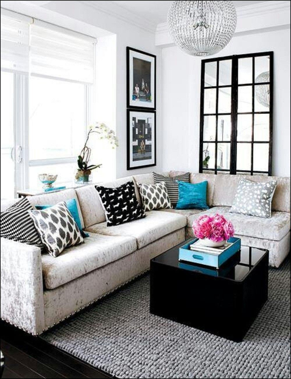 l shaped couch living room ideas ashley sets sale for small space couches spaces
