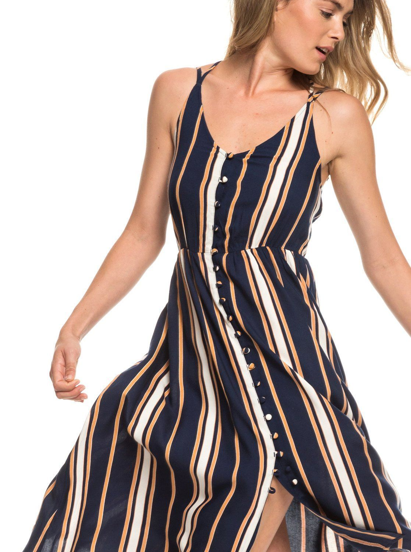 237021316fe Sunset Beauty Strappy Midi Dress in 2019