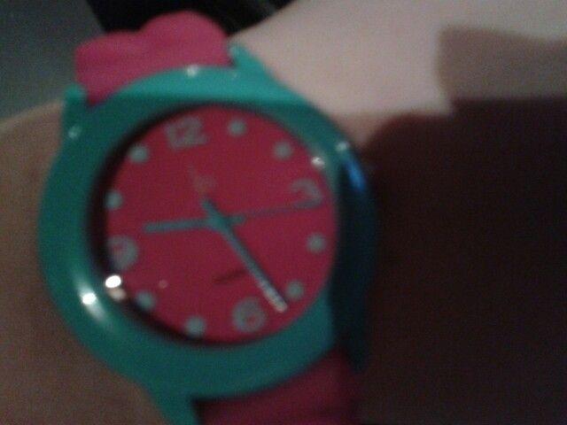 Ma nouvelle montre