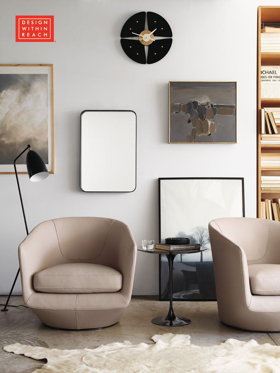 U turn swivel chair designed by niels bendtsen design - Swivel chair living room furniture ...