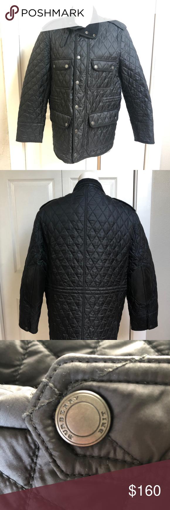 Men S Burberry Brit Diamond Quilted Jacket Quilted Jacket Burberry Brit Burberry Brit Jacket