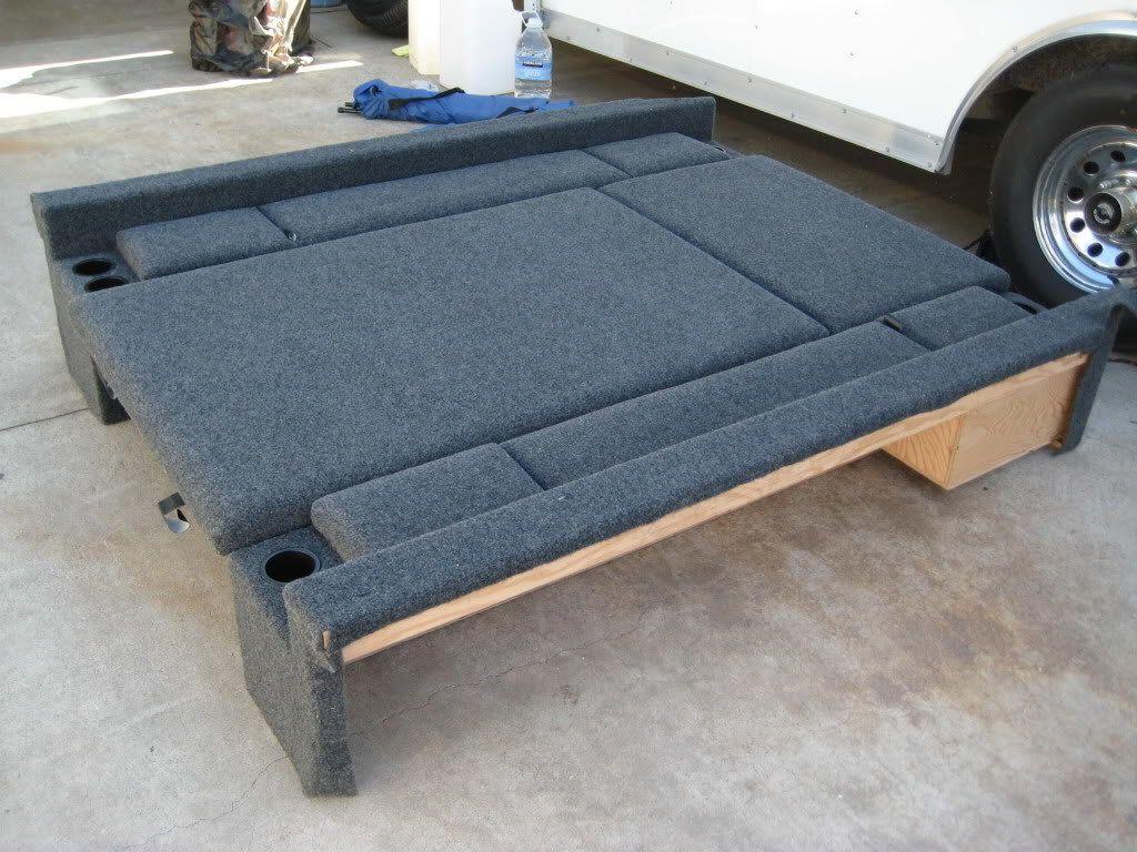 0509 LB Storage/Carpet Kit Truck bed storage