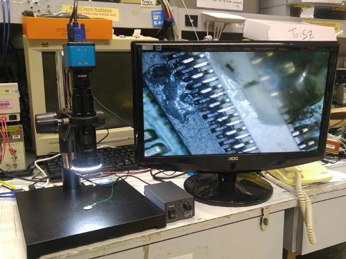 Hd 2.0mp industrial camera vga digital microscope for mobile phone