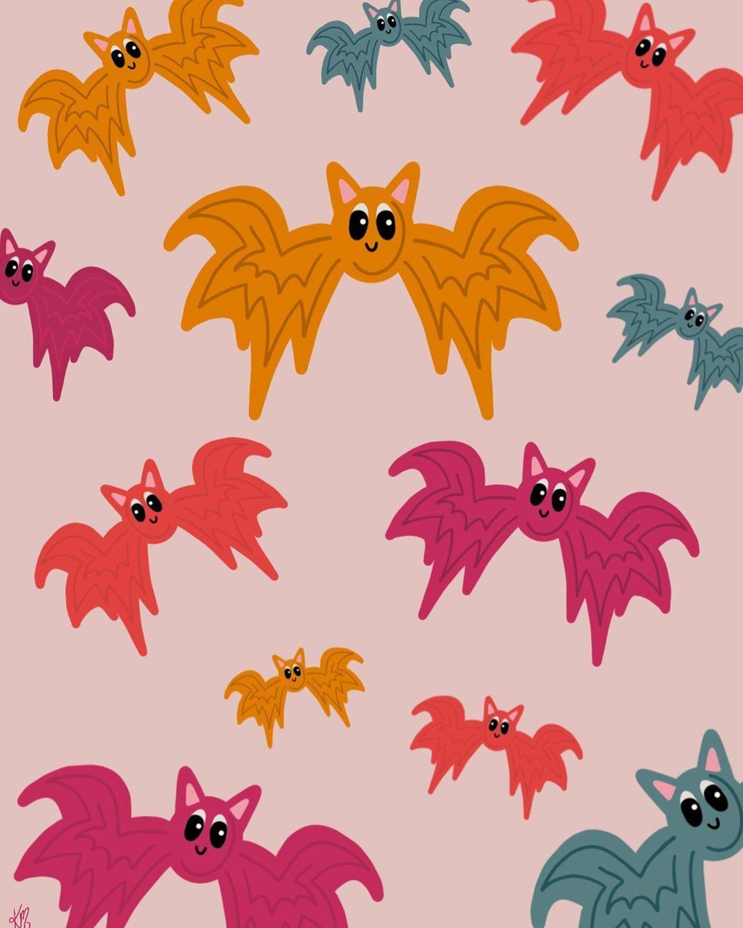 """Kayleigh Messner on Instagram: """"Bats bats bats. #graphicdesign #graphicdesigner #graphicart #graphicartists #digitalart #digitalartist #digitalillustration #vector…"""""""