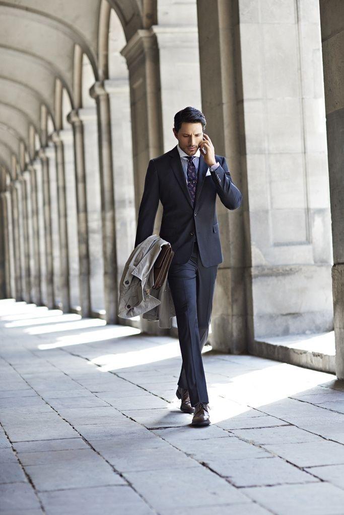 72b8ff4b the closer #menswear #simplydapper #stylish Mens Suits, The Sartorialist,  Gentleman Style
