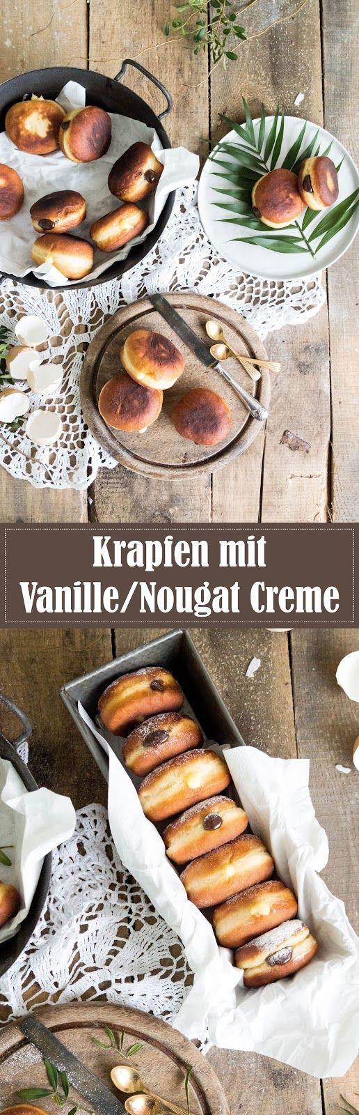 Fifty Shades of Krapfen: Faschingskrapfen mit Nougat- und ...