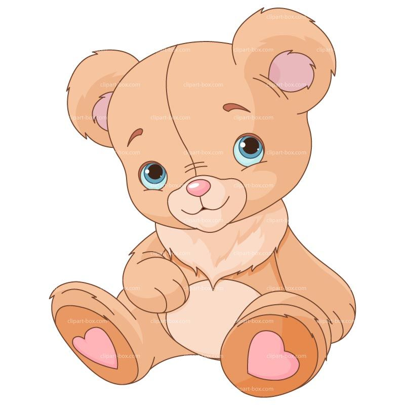 Bear cute. Pink teddy clip art