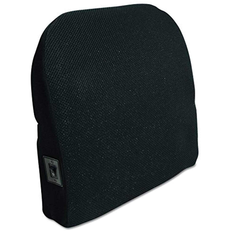 Comfort products memory foam massage lumbar cushion black