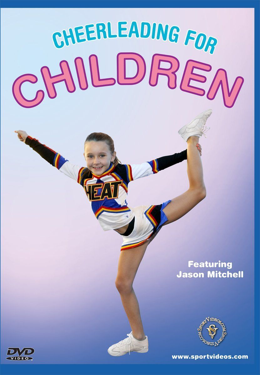Cheerleading For Children Dvd Or Download Free Shipping Cheerleading For Kids Cheerleading Cheerleading Coaching