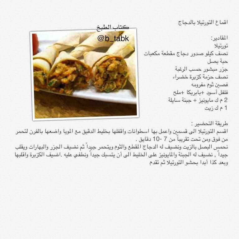 اقماع التورتيلا بالدجاج Food And Drink Food Cooking
