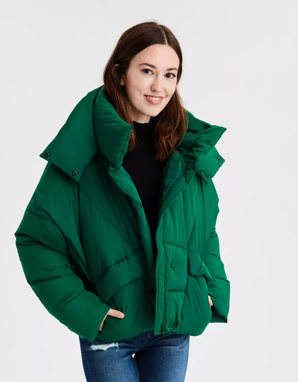 Ae 80 S Puffer Jacket Mens Outfitters Women Jeans Clothes For Women [ 1282 x 1000 Pixel ]