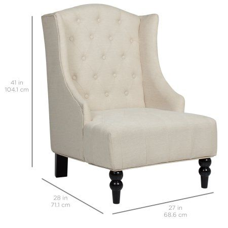 Best Home Fabric Accent Chair White Leather Dining Chairs 400 x 300