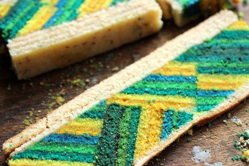 Layer Cake Baumkuchen Mit Muster Kuchen Muster Essen