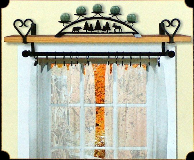 Curtains Ideas » Curtain Rod Shelf - Inspiring Pictures of ...
