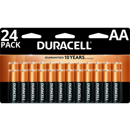 2 Packs Duracell 1 5v Coppertop Alkaline Aa Batteries 24 Pack Walmart Com In 2020 Duracell Duracell Batteries Alkaline Battery