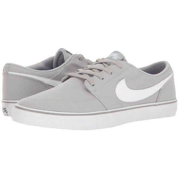 comprar barato clásica Perfecto Nike Sb Zapato De Lona Portmore - Fondo Negro Y Blanco outlet Novedades csISK