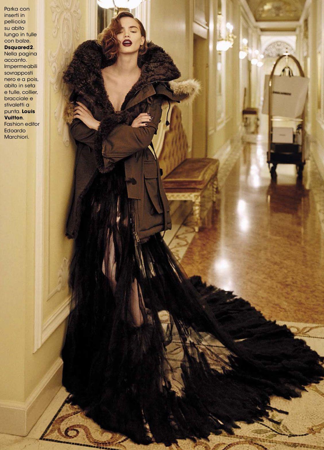 It List! - Dalia Gunther by  Andoni & Arantxa for Glamour Italia October 2015
