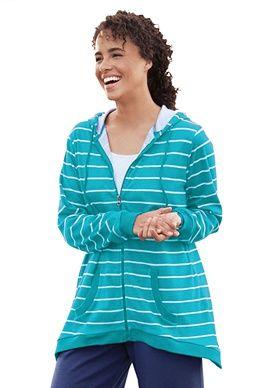 Plus Size Fishtail sport knit jacket   Plus Size jackets & blazers   Woman Within