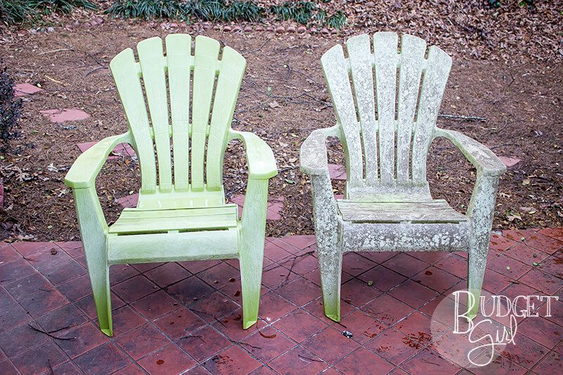 Need A And Simple Way To Clean Plastic Patio Chairs It Doesn T Get Much Simpler Than Vinegar