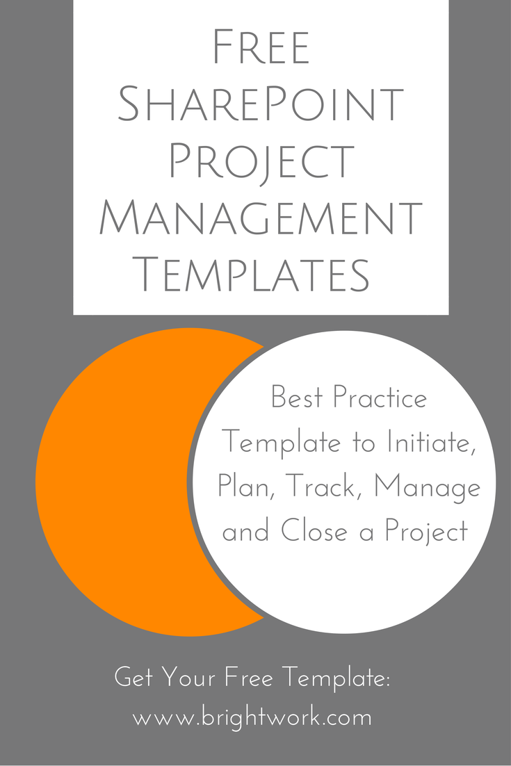Free Project Management Template for SharePoint | Project management ...